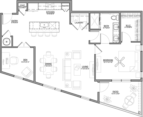 unit floorplan